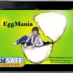 EggMania with kidSAFE logo